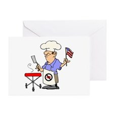 Patriotic Barbecue Greeting Cards (Pk of 10)