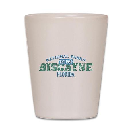Biscayne National Park FL Shot Glass