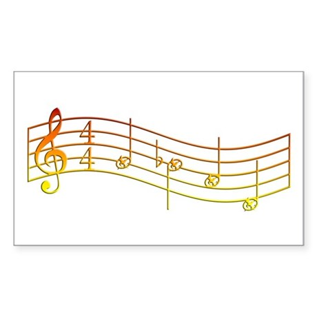 """Flame """"Rue's Whistle"""" Sticker (Rectangle"""