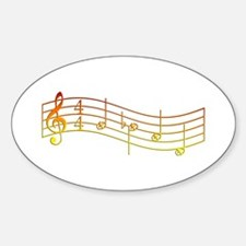 """Flame """"Rue's Whistle"""" Sticker (Oval)"""
