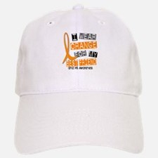 I Wear Orange 37 MS Baseball Baseball Cap