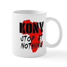 Kony Stop At Nothing Small Mug