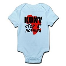 Kony Stop At Nothing Infant Bodysuit