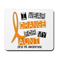 I Wear Orange 37 MS Mousepad