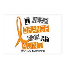 I Wear Orange 37 MS Postcards (Package of 8)