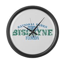 Biscayne National Park FL Large Wall Clock
