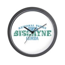 Biscayne National Park FL Wall Clock