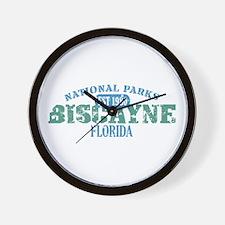 Biscayne National Park FL Wall Clock