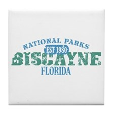 Biscayne National Park FL Tile Coaster