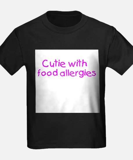 Cutie with food allergies T-Shirt