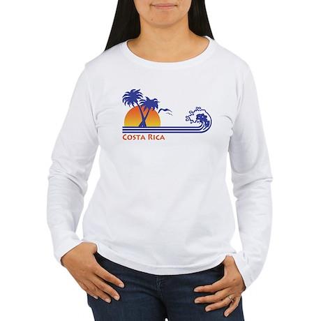 Costa Rica Women's Long Sleeve T-Shirt