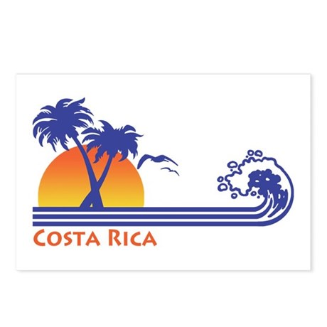 Costa Rica Postcards (Package of 8)