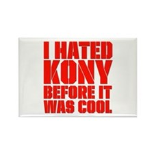 I Hated Kony Before It Was Cool Rectangle Magnet