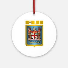 """Fiji Gold"" Ornament (Round)"