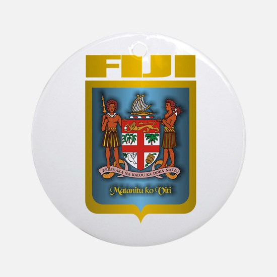 """Fiji Gold"" Ornament (Round)"