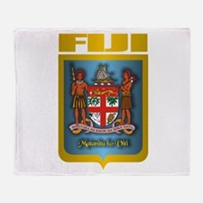 """Fiji Gold"" Throw Blanket"