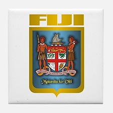 """Fiji Gold"" Tile Coaster"