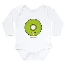 Kawaii Kiwi Long Sleeve Infant Bodysuit