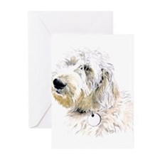 Butters the Labradoodle Greeting Cards (Pk of 20)