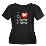 I Love My Chow Chow Women's Plus Size Scoop Neck D