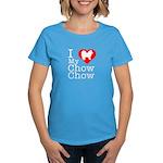 I Love My Chow Chow Women's Dark T-Shirt