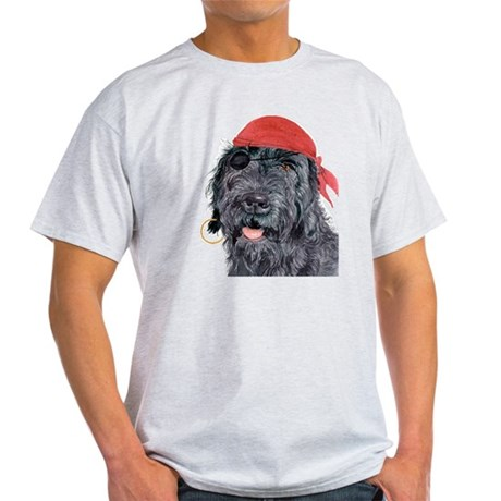 Pirate Labradoodle Light T-Shirt