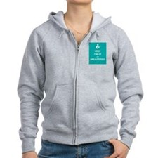 Keep Calm & Breastfeed - Zip Hoodie