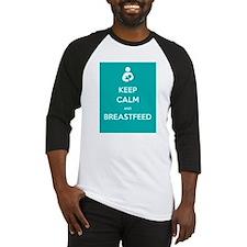 Keep Calm & Breastfeed - Baseball Jersey