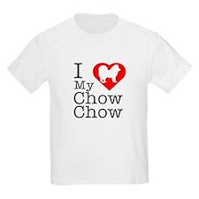 I Love My Chow Chow T-Shirt
