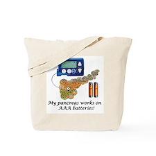 Cute Insulin pump Tote Bag