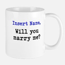 Personalized Marriage Proposa Mug
