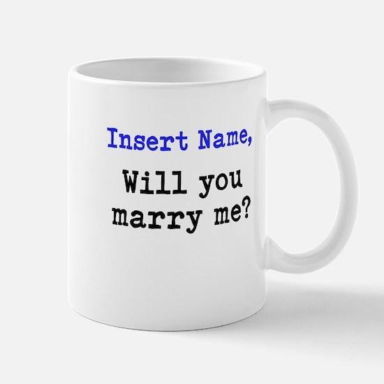 Personalized Marriage Proposa Mug