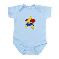 Boxing Star Infant Bodysuit