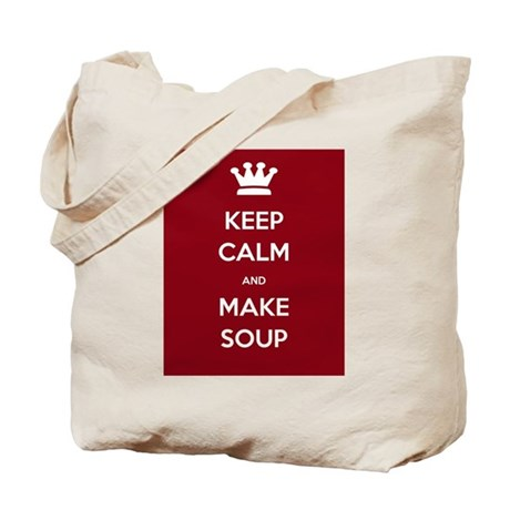 Keep Calm & Make Soup - Tote Bag