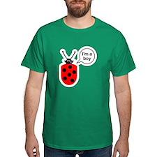 Ladybug I'm a Boy T-Shirt