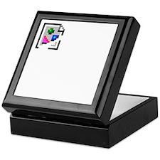 Broken Image Icon Keepsake Box