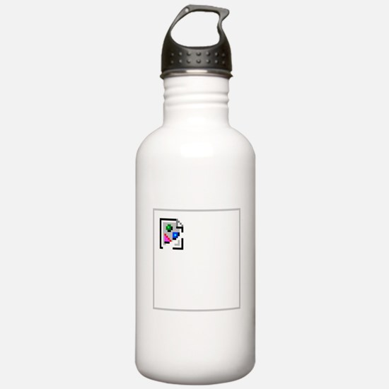 Broken Image Icon Water Bottle