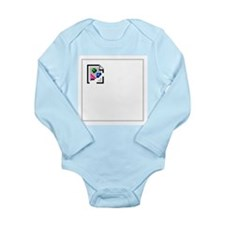 Broken Image Icon Long Sleeve Infant Bodysuit