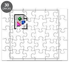 Broken Image Icon Puzzle