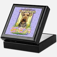 Easter Egg Cookies - Airedale Keepsake Box