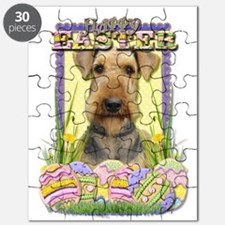 Easter Egg Cookies - Airedale Puzzle