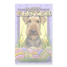 Easter Egg Cookies - Airedale Decal