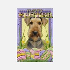 Easter Egg Cookies - Airedale Rectangle Magnet