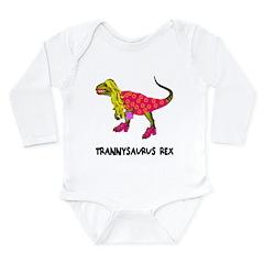 Trannysaurus Rex Long Sleeve Infant Bodysuit