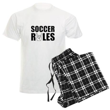 Soccer Rules Men's Light Pajamas