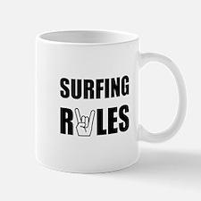 Surfing Rules Mug