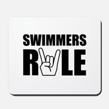 Swimmers Rule Mousepad