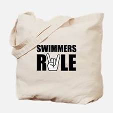 Swimmers Rule Tote Bag