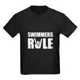 Swimming tee shirt Kids T-shirts (Dark)