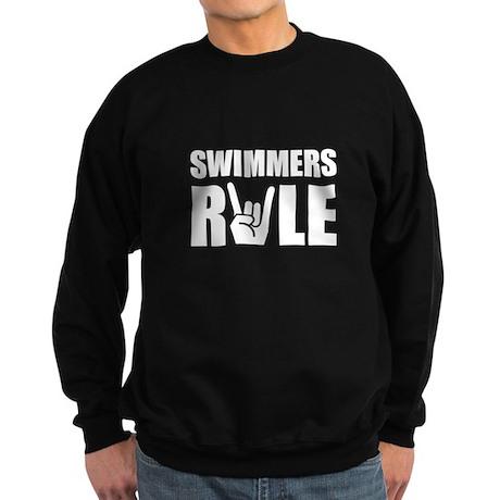 Swimmers Rule Sweatshirt (dark)